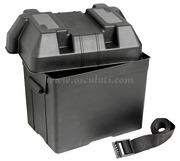 Accessori NauticiPortabatteria nero per batterie massimo A·h 65