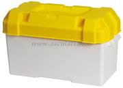 Accessori NauticiPortabatteria bianco\giallo per batterie massimo A·h 120