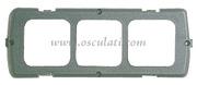 Accessori Nautica Supporto singolo grigio  [1465702]<br/><font color=#962308>Quantità Minima: 2 pezzi (1.74€ al p.zo) </font>