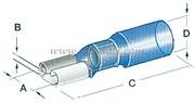 Faston preisolati con termoretraibile a tenuta stagna da 6,3 mm
