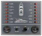 Accessori Nautica Pannello a magnetotermici per barca a motore  [1480900]