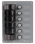 Accessori Nautica Pannello verticale 6 interruttori  [1484506]