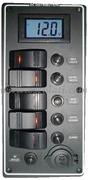 Accessori Nautica Pannello elettrico PCAL voltmetro digitale 9/32 V  [1486305]