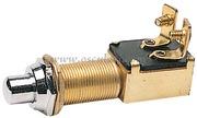 Accessori Nautica Pulsante ottone cromato 15 x 25 mm  [1491803]<br/><font color=#962308>Quantità Minima: 2 pezzi (6.6€ al p.zo) </font>