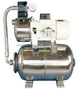 Autoclave CEM per distribuzione acqua su grossi scafi da 12 Volt Versione A: con serbatoio inox di compensazione