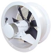 Ventilatore elicoidale con girante polipropilene bilanciate dinamicamente e staticamente
