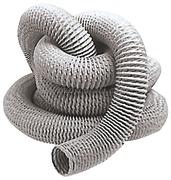 Tubo per aspiratori in fibra di vetro e PVC con armatura metallica