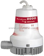Accessori NauticaElettropompe centrifughe ad immersione EUROPUMP II  Modello 2000 12 Volt