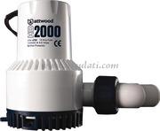 Pompa di sentina ATTWOOD modello HEAVY DUTY per usi gravosiModello 2000 12Volt