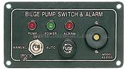 Pannello pompe + allarme