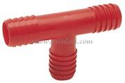 Accessori Nautica Raccordo nylon a T mm 10  [1720410]<br/><font color=#962308>Quantità Minima: 10 pezzi (0.54€ al p.zo) </font>