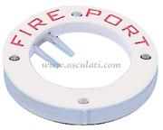 Accessori Nautica Portellino Fire Port plastica  [1768000]<br/><font color=#962308>Quantità Minima: 3 pezzi (3.24€ al p.zo) </font>