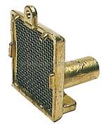 Accessori Nautica Succhiarola ottone verticale  [1770800]