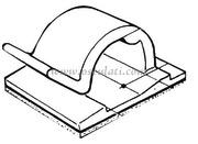 Accessori Nautica Fermacavo nylon 5 x 5 mm  [1803001]