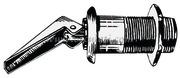 Accessori Nautica Tappo espansione nero a sifone   [1853500]<br/><font color=#962308>Quantità Minima: 3 pezzi (3.49€ al p.zo) </font>