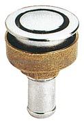 Accessori Nautica Sfiato ottone cromato 16 mm dritto  [2028401]