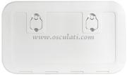 Portello ispezione in Luran S versione FLUSH Bianco 600x350
