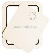 Accessori Nautica Portello estraibile bianco 305 x 355 mm  [2030220]