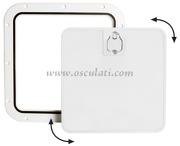Accessori Nautica Portello estraibile bianco 375 x 375 mm  [2030230]