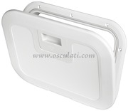 Accessori Nautica Portello Push Pull bianco 380 x 280 mm  [2030300]