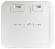 Accessori Nautica Portello Push Pull bianco 520 x 465 mm  [2030600]