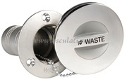 Accessori Nautica Tappo inox a filo Waste 38 mm  [2086635]