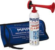 Segnalatore sonoro a gas omologato RINA