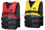 Aiuto al galleggiamento DOMINATOR SKI  50N (EN ISO 12402-5)<span style=background-color:#ffff00>Ragazzo taglia da 25 a 40 kg</span> Giallo fluo/Nero
