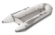 Accessori NauticiTender con pagliolo pneumatico gonfiabile ad alta rigidità completo di panca centrale in legno.- Lungh. m: 3,10