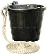 Secchio Yachticon affondante in gomma
