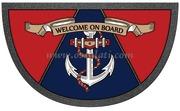 Accessori Nautica Zerbino Format 40 x 68 cm Anchor  [2390905]