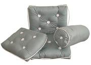 Cuscino semplice grigio 430 x 350 mm  [2443016]Accessori Nautici