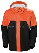 Helly Hansen Storm Rain Jacket arancio/nero S  - 24.500.11 Osculati accessori