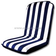 Comfort Seat, cuscino e sedia autoreggente  Strisce bianche/blu