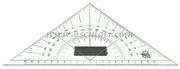 Squadretta in plexiglass con logo