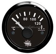 Accessori Nautica Indicatore temperatura acqua 40/120 gradi nero/nera  [2732008]