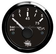 Accessori Nautica Indicatore pressione olio 0/5 bar nero/nera  [2732010]
