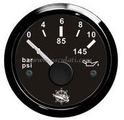 Accessori Nautica Indicatore pressione olio 0/10 bar nero/nera  [2732011]