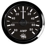 Accessori Nautica Amperometro con shunt 80 A nero/nera  [2732024]