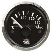 Accessori Nautica Indicatore temperatura olio 50/150 gradi nero/lucida  [2732109]