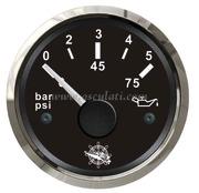 Accessori Nautica Indicatore pressione olio 0/5 bar nero/lucida  [2732110]