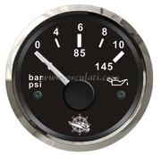 Accessori Nautica Indicatore pressione olio 0/10 bar nero/lucida  [2732111]