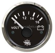 Accessori Nautica Voltmetro 8/16 V nero/lucida  [2732114]