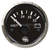 Accessori Nautica Voltmetro 18/32 V nero/lucida  [2732115]