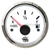 Indicatore carburante 10-180 Ohm bianco/lucida  [2732200]Accessori Nautica