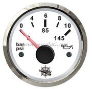 Accessori Nautica Indicatore pressione olio 0-10 bar bianco/lucida  [2732211]