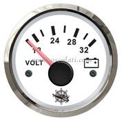 Accessori Nautica Voltmetro 18/32 V bianco/lucida  [2732215]