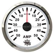 Accessori Nautica Amperometro con shunt 50 A bianco/lucida  [2732223]