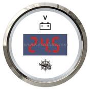 Accessori Nautica Voltmetro digitale 8/32 V bianco/lucida  [2732240]