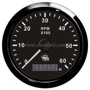 Accessori Nautica Contagiri 0-4000 RPM nero/nera  [2732502]